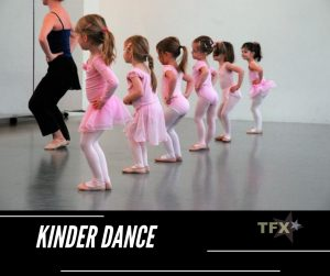 Kinder Dance - Ballet for 3 & 4 years